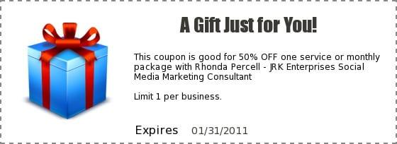 Arizona Social Media - 50 off coupon